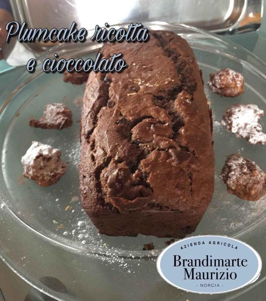 ricetta plumcake ricotta cioccolato Norcia